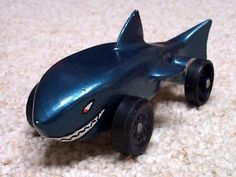 Shark Pinewood Derby Car And We Are A Cub Scout Pinterest