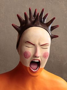 New Hand-Sculpted Clay Portraits and Illustrations by Irma Gruenholz