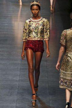 Image - Dolce e Gabbana @ Milan Womenswear A/W 2013 - SHOWstudio - The Home of Fashion Film