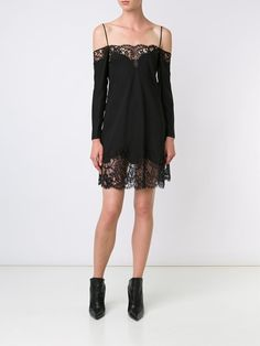 Lace Inset Cami Dress