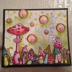 XL stamps: Funky Fungus