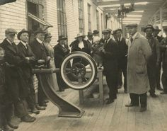 First Gillette Tire, Completed | Photograph | Wisconsin Historical Society