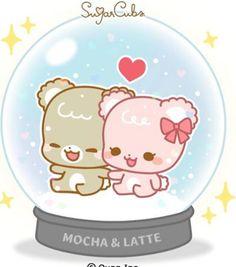 Love Cartoon Couple, Cute Love Cartoons, Cute Images, Cute Pictures, Cute Bear Drawings, Sugar Bears, Cute Love Gif, Love Stickers, Cute Chibi