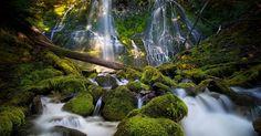 Proxy Falls.....central Oregon.