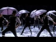 "Pepper Potts and New Directions singing an ""Umbrella"" and ""Singing in the Rain"" mash-up... what even... GLEE - Singing In The Rain/Umbrella (Full Performance) (Official Music Video) - YouTube"