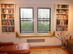 BEAUTIFUL CUSTOM and BUILT-IN RADIATOR COVERS ENCLOSURES or WINDOW SEATS - (NYC)