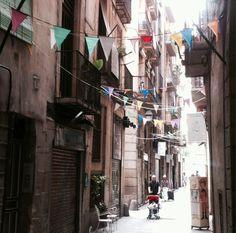 Small streets in El Born - Barcelona