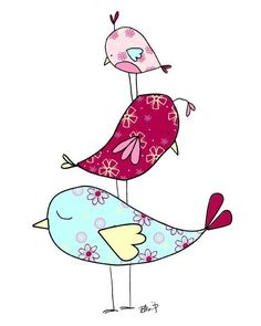 The Stack #bird #art from http://www.bealookids.com