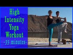 Power Yoga Workout Daily Yoga Flow (35 minutes) ✪