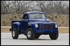 1949 Studebaker Custom Pickup 318 CI, 4-Wheel Drive
