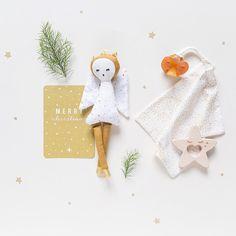 Heaven Sends Scandi ARBRES /& étoiles Décorations-Vichy Style Noël Decs