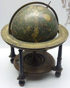 Globes terrestres et célestes Map Globe, Maps, Horror, Ship, Celestial, Interior Design, Architecture, Antiques, Beautiful