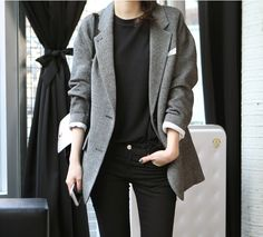 I'd love an oversized blazer. This has been a want of mine for ages. I love this one because it looks cozy and not made of something akin to sweatshirt fabric.