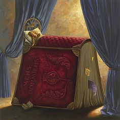 Vladimir Kush, Pillow Book