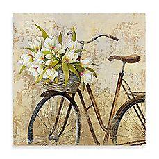 image of Fabrice de Villeneuve Studio Ride to Flower Market Wall Art
