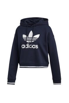 We rounded up the comfy, stylish, quality hoodies you'll want to wear on (and off! Stylish Hoodies, 90s Fashion, Fashion Trends, Womens Clothing Stores, French Terry, Adidas Jacket, What To Wear, Cozy, Sweaters