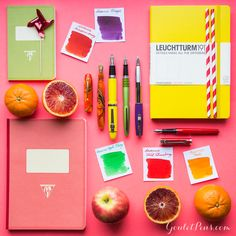 Savor a sweet fountain pen from this fantastic fruity collection. Each fountain pen, ink, and is filled with bright potential for ingenious writing. Pin for later