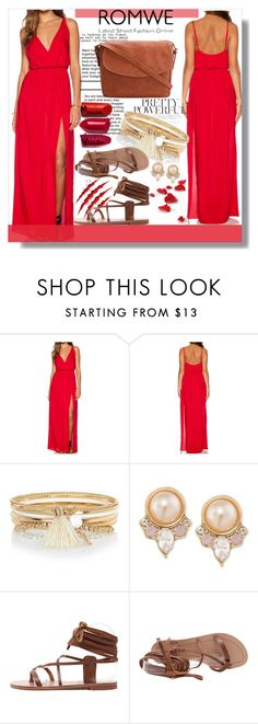 """Romwe"" by mila96h ❤ liked on Polyvore featuring River Island, Carolee, Rika and romwe"