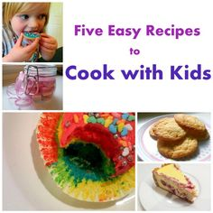 5 Recipes to Cook with Kids