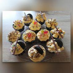 Csokis-Fahéjas Muffin | Betty hobbi konyhája Essie, Cupcakes, Breakfast, Drinks, Food, Mascarpone, Cinnamon, Kuchen, Morning Coffee
