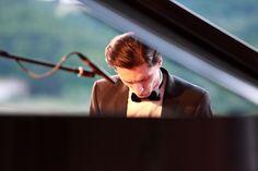 Alexander Romanovski in concerto nella Cantina Antinori Chianti Classico #melodia del vino  photo credits: FotoStudio73 di Emiliano Nannucci