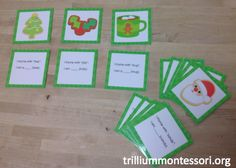 December Rhyming Riddles (from Trillium Montessori)