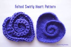 Freeform Crochet Basics, Part The Nautilus Shell (Snovej Food & Craft Adventures) Appliques Au Crochet, Crochet Motif, Crochet Flowers, Crochet Stitches, Knit Crochet, Crochet Hearts, Spiral Crochet, Free Form Crochet, Knitting Patterns