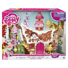 Shop for Hasbro My Little Pony Friendship Is Magic Collection Pinkie Pie Sweet Shoppe Playset, Multi-colour. Starting from Choose from the 4 best options & compare live & historic toys and game prices. My Little Pony Dolls, All My Little Pony, Hasbro My Little Pony, My Little Pony Friendship, Pinkie Pie, Cumple My Little Pony, Imagenes My Little Pony, My Little Pony Merchandise, Pony Drawing