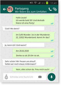 Geburtstagseinladung Whatsapp Kostenlos Geburtstagseinladungen
