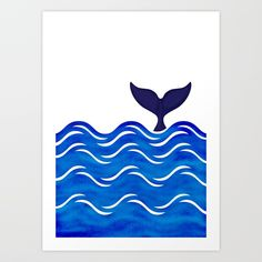 Collect your choice of gallery quality Giclée, or fine art prints custom trimmed by hand in a variety of sizes with a white border for framing. Whale Tail, Blue Whale, Fine Art Prints, Gallery, Frame, Products, Picture Frame, Frames, Hoop