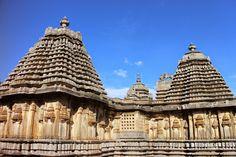 Hoysala temples in Karnataka.
