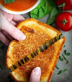 A basic grilled cheese sandwich is a classic comfort food that brings pure nostalgia. This recipe is made with medium cheddar and country white bread. Wrap Recipes, Milk Recipes, Dinner Recipes, National Grilled Cheese Day, Make Ahead Desserts, Good Food, Yummy Food, Man Food, Sandwiches