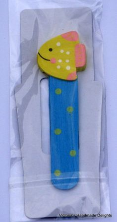 Childs Wooden Bookmark stocking BB?
