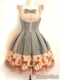 One of my first dream dresses from Innocent World