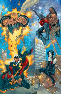 X-Treme X-Men by Salvador Larroca