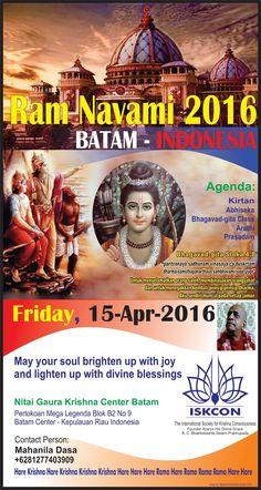 Hare Krishna Batam: Ram Navami 2016 - Batam