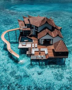 Who are you taking with you to this overwater resort in Maldives🤔🤔 ☀️ ☀️ ☀️ ☀️ ☀️ Tag a friend you… – transeunt-certifica Vacation Places, Dream Vacations, Honeymoon Destinations, Dream Vacation Spots, Vacation Rentals, Water Villa, Beste Hotels, Unique Hotels, Amazing Hotels
