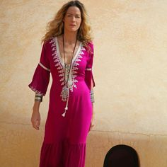 Kaftan Long Dress Princesse (One size) - 5 colours  Facebook: Milk & Beach  Keep calm and think Milk & Beach.  Exclusive distributor to Portugal of Olga Nikos by Catherine P.  Glamorous, Exotic & Sexy handmade Holiday wear made in Morocco & designed in Greece by Catherine P.  http://www.facebook.com/media/set/?set=a.318383198273426.63028.318174938294252=3#!/photo.php?fbid=318383391606740=a.318383198273426.63028.318174938294252=3