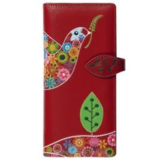 New Peace Dove Red Large Woman's Wallet By Shagwear Shagwear. $21.97. Save 27%!