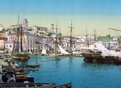 The harbor, Cannes, Riviera