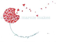 Heart and Wishes - giclee print