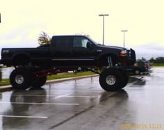 big ford trucks lifted - Google Search