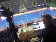 John Hooper hard at work with Czech Republic Field & Indoor Hockey #SportsCode