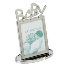 Baby Chrome Crystocraft Photo Frame with small crystals by an, http://www.amazon.co.uk/dp/B00DQUUDSU/ref=cm_sw_r_pi_dp_vUb4sb1TXZB3K