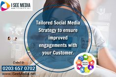 I See Media is Best Social Media agency in UK specialised in helping SME's grow their business with a strong online presence! Top Social Media, Social Media Company, Social Media Services, Social Media Marketing Agency, Digital Marketing Strategy, Digital Marketing Services, Social Media Training, Customer Engagement, Target Audience