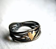 heart ring my-style