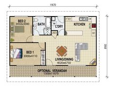 Build a granny flat for less than $10k | Pinterest | Granny flat ...