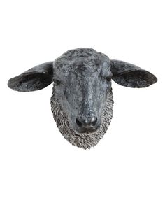 Sheep Head Wall Décor | Best Price and Reviews | Zulily