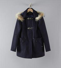 Duffle coat capuche amovible Kookai