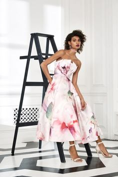d7d4e78f156 Marchesa Notte Fall 2019 Ready-to-Wear Collection - Vogue Cocktail Dress  Prom